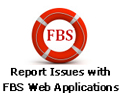 Report Issues with FBS Web Applications