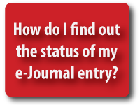 Check Status of eJournal