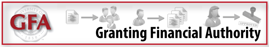 Granting Financial Authority (GFA)