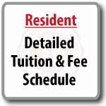 Resident –Detailed Tuition & Fee Schedule (printable pdf)