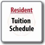 Resident –Tuition Schedule (printable pdf)