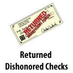Returned Dishonored Checks