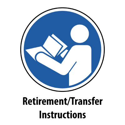 Retirement and Transfer of Equipment