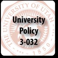 University Policy 3-032