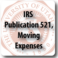 IRS Publication 521, Moving Expenses