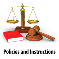 Policies and Instructions