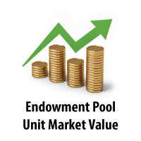 Endowment Pool Unit Market Value