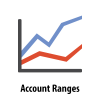 Valid Account Ranges for Financial Documents