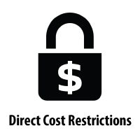 A-21 Direct Cost Restrictions