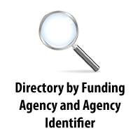 Directory by Funding Agency and Agency Identifier