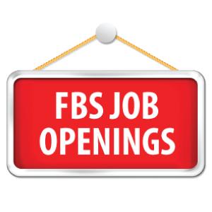 FBS Job Openings