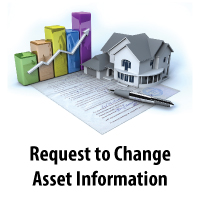 Request to Change Asset Information