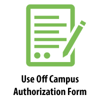 Use Off Campus Authorization Form: