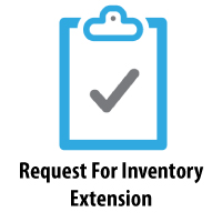 Request For Inventory Extension