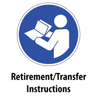 Retirement/Transfer Instructions