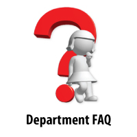 Department FAQs
