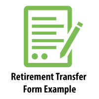 Retirement/Transfer (RT) Form Example