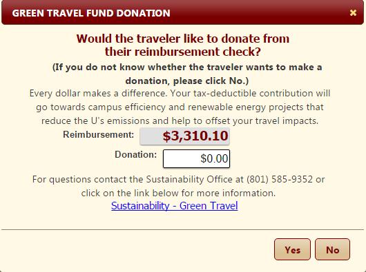Green Travel Fund Donation – Clarification   Travel Tidbits
