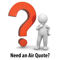 Need an Air Quote