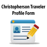 Christopherson Traveler Profile Form