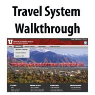 Travel System Walkthrough